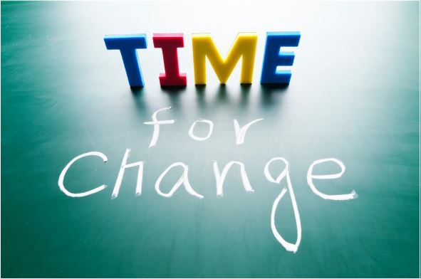 time for change quote coach4success