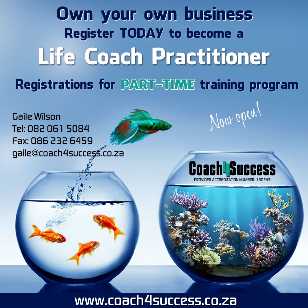 become a life coach coach4success