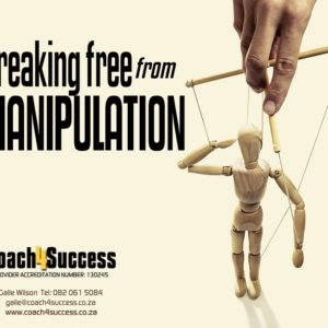 online e-learning course breaking free from manipulation coach4success