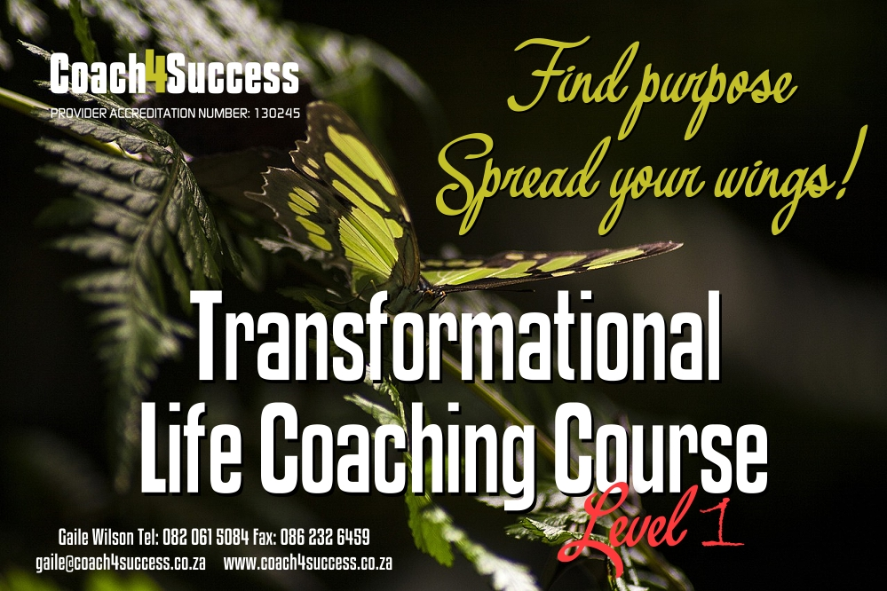 Coach4Success Transformational Life Coaching Course Level 1
